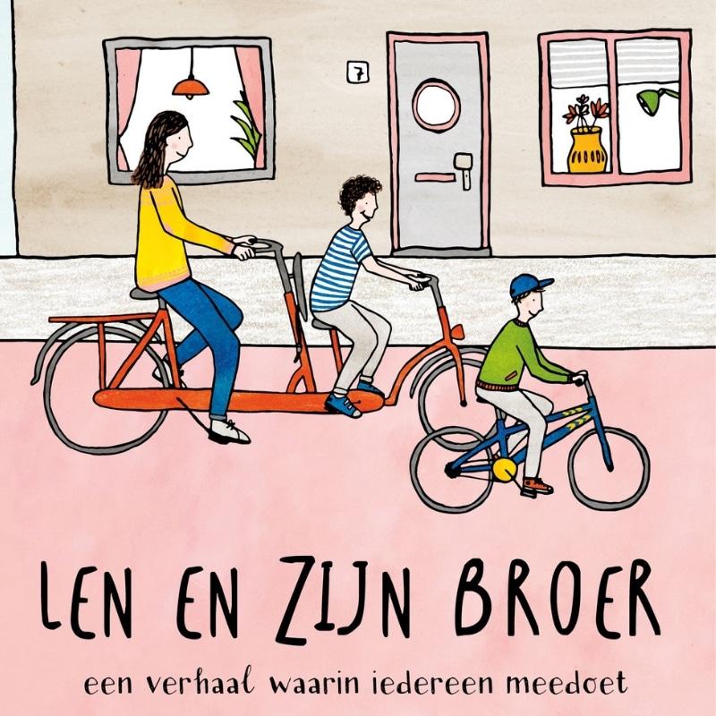 Voorleesboek: Len en zijn Broer – Een verhaal waarin iedereen meedoet