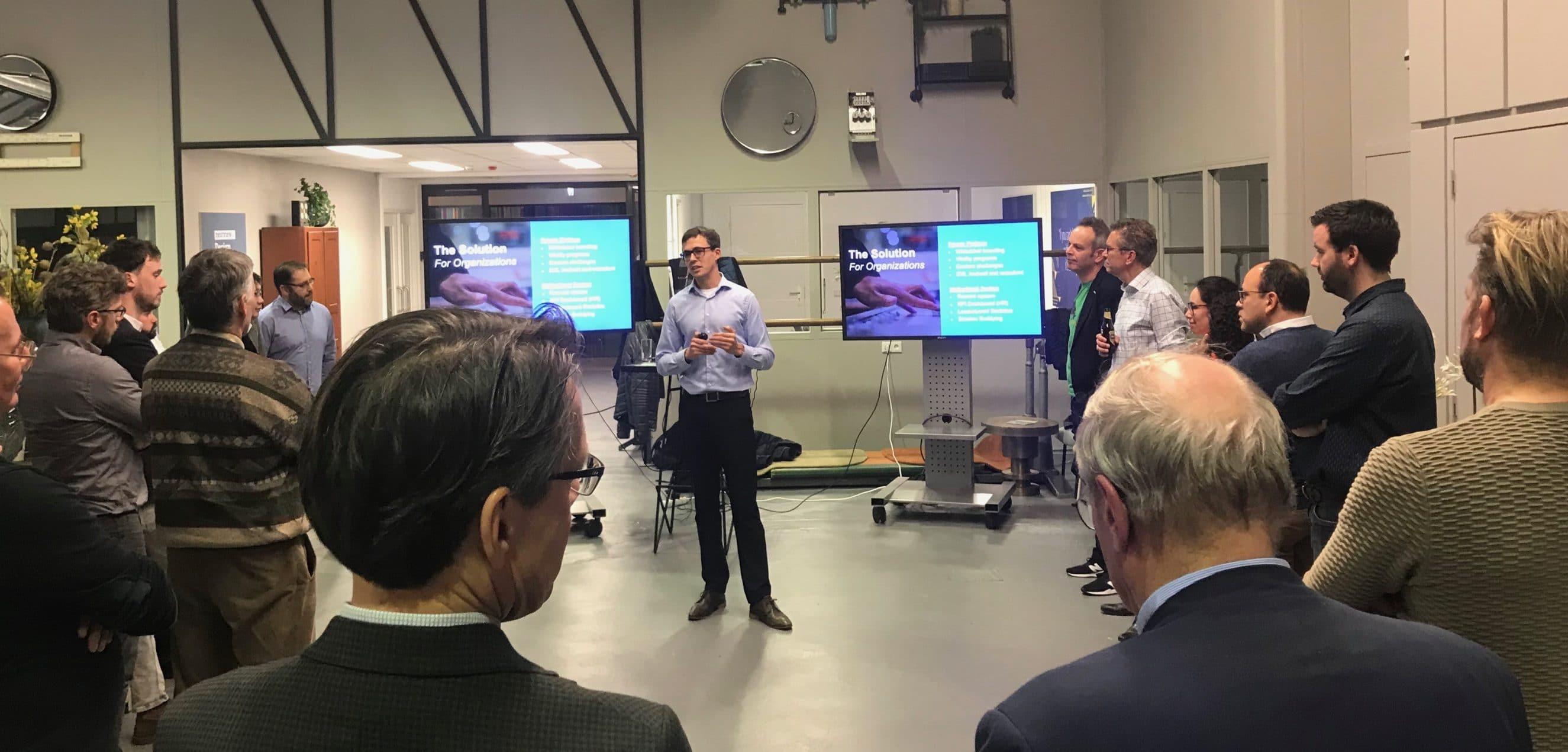 Giel Boes presentatie HTC Plaza