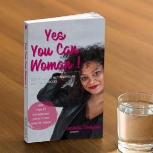 Lucinda Douglas over haar boek 'Yes you can woman!'