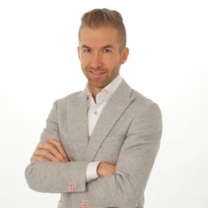 Spreker en illusionist Richard Jansen